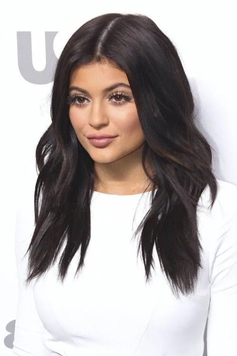 11. Medium Black Hairstyle with Layers