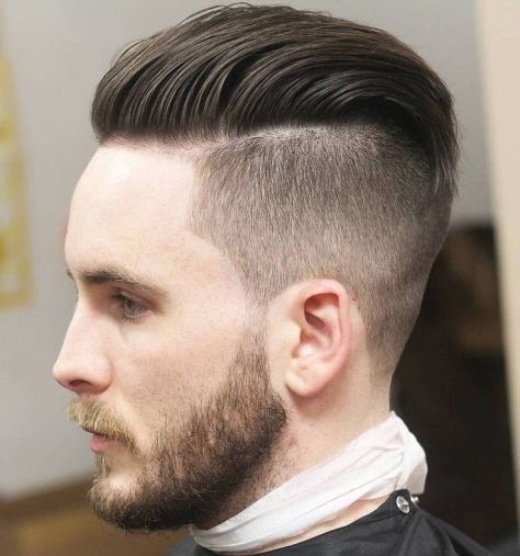Classic Undercut Hairstyle for Men