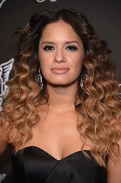 Dark to Light Brunette Ombre Hair with Waves