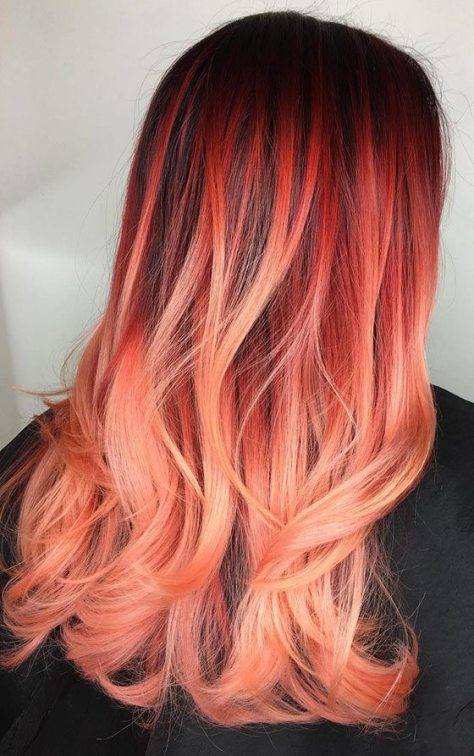 Trendy Ombre Long Hairstyle