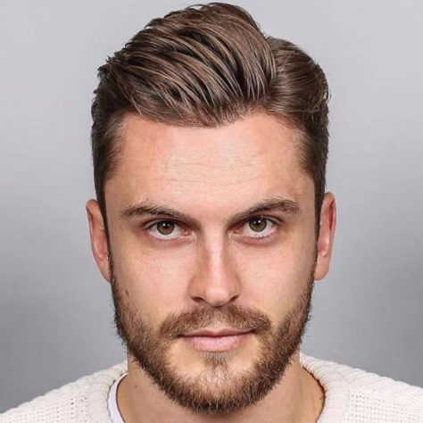 Men's Haircut for Square Face