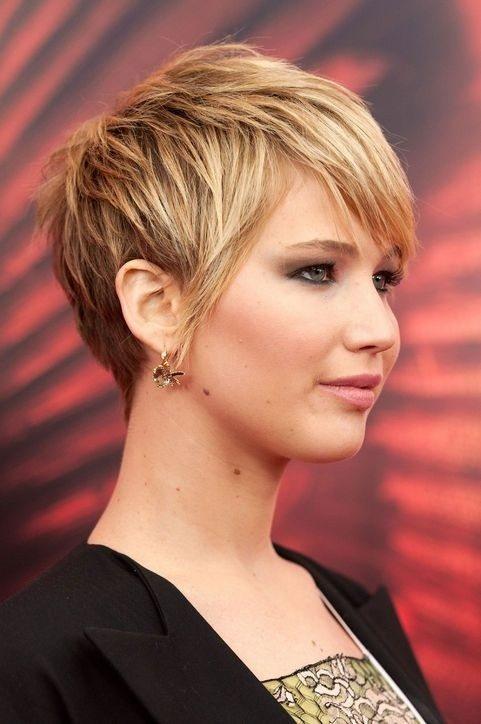 Short Blonde Layered Haircut