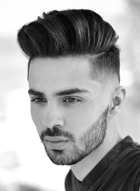 Undercut Brush Up Hairstyle