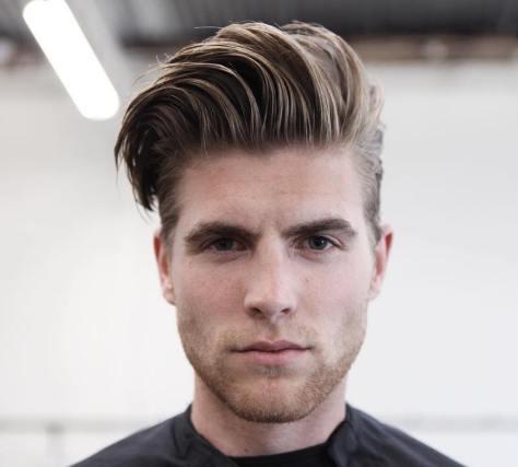 Side Part Medium Length Hairstyle