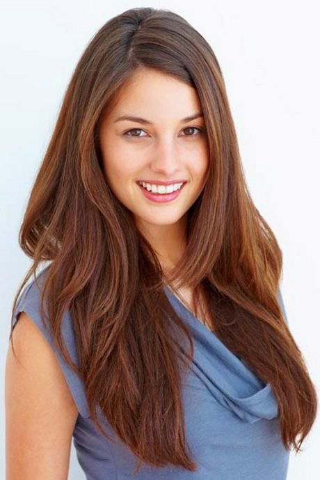 Brunette Hairstyle for Thick Hair