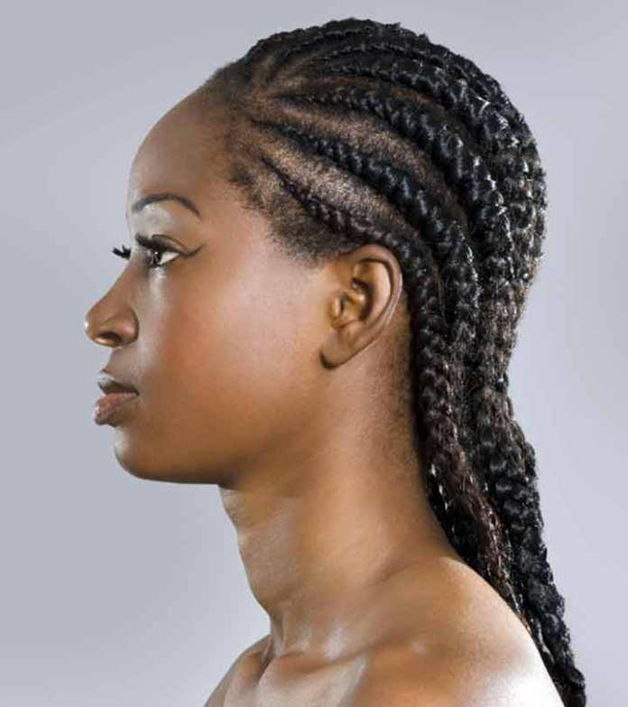 Cornrow Braids Hairstyle