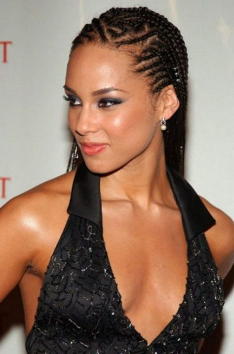 Cornrow Hairstyle for Black Hair