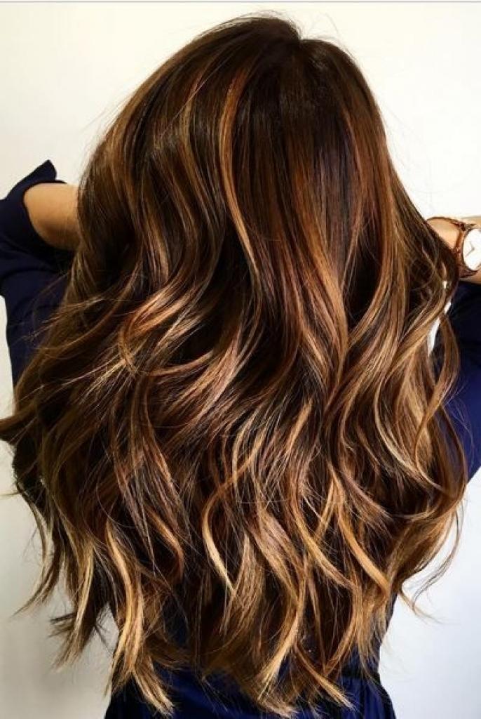 Cinnamon Blonde Highlights