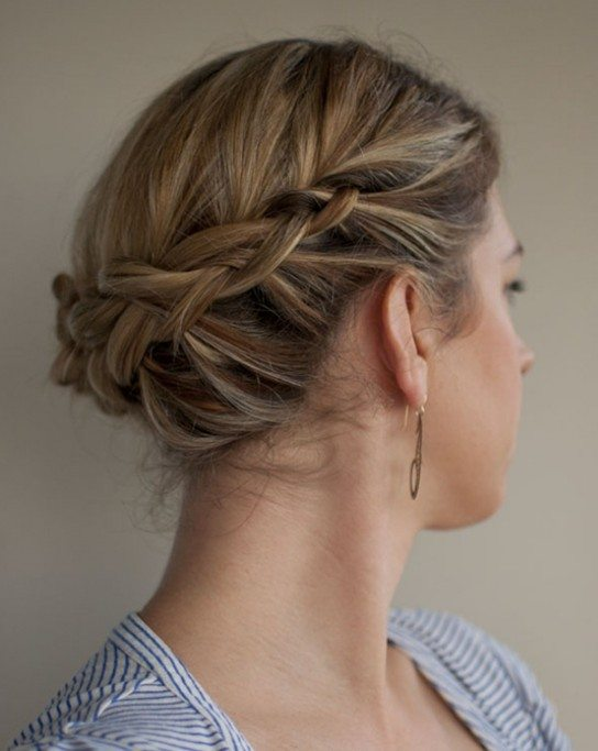 Short Updo Hairstyle