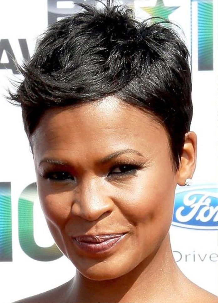 Pixie Hairstyle for Black Women