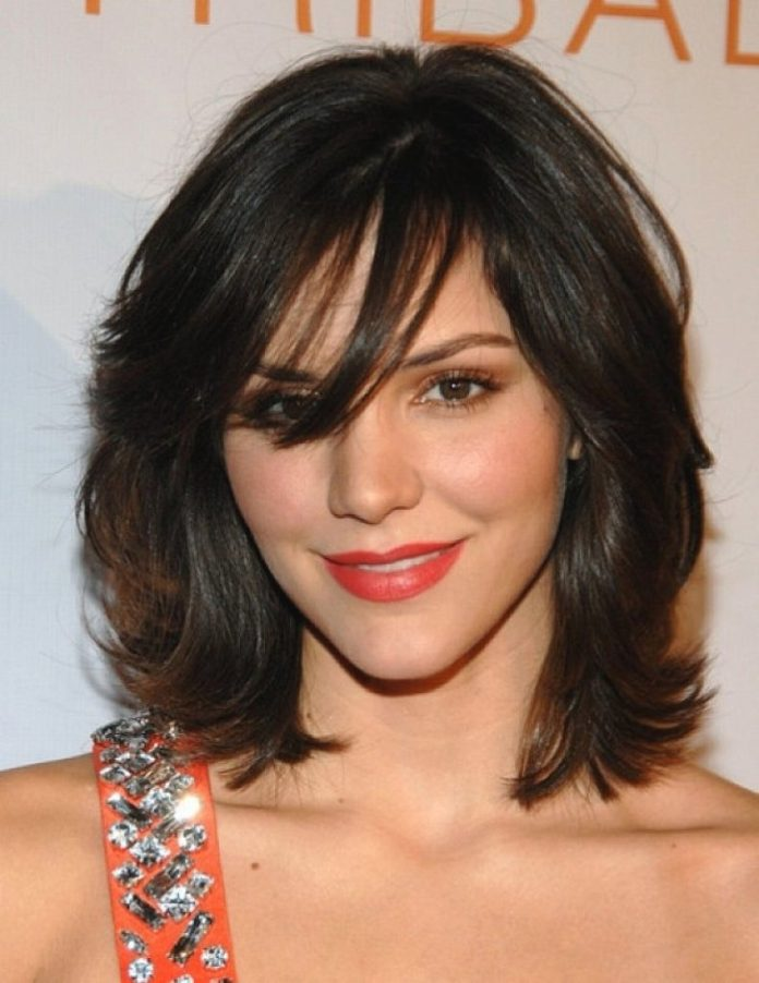 Medium Length Haircut for Thick Hair
