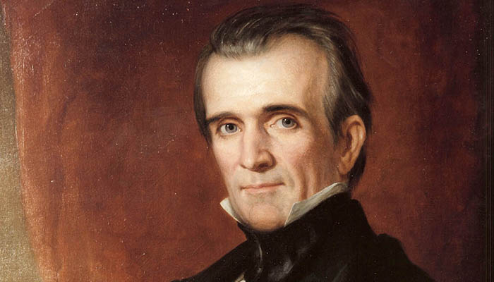 James K Polk, another very hot president!