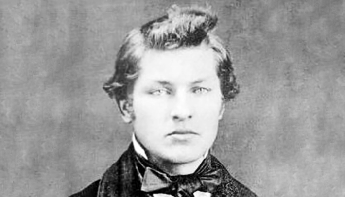 Young James Garfield