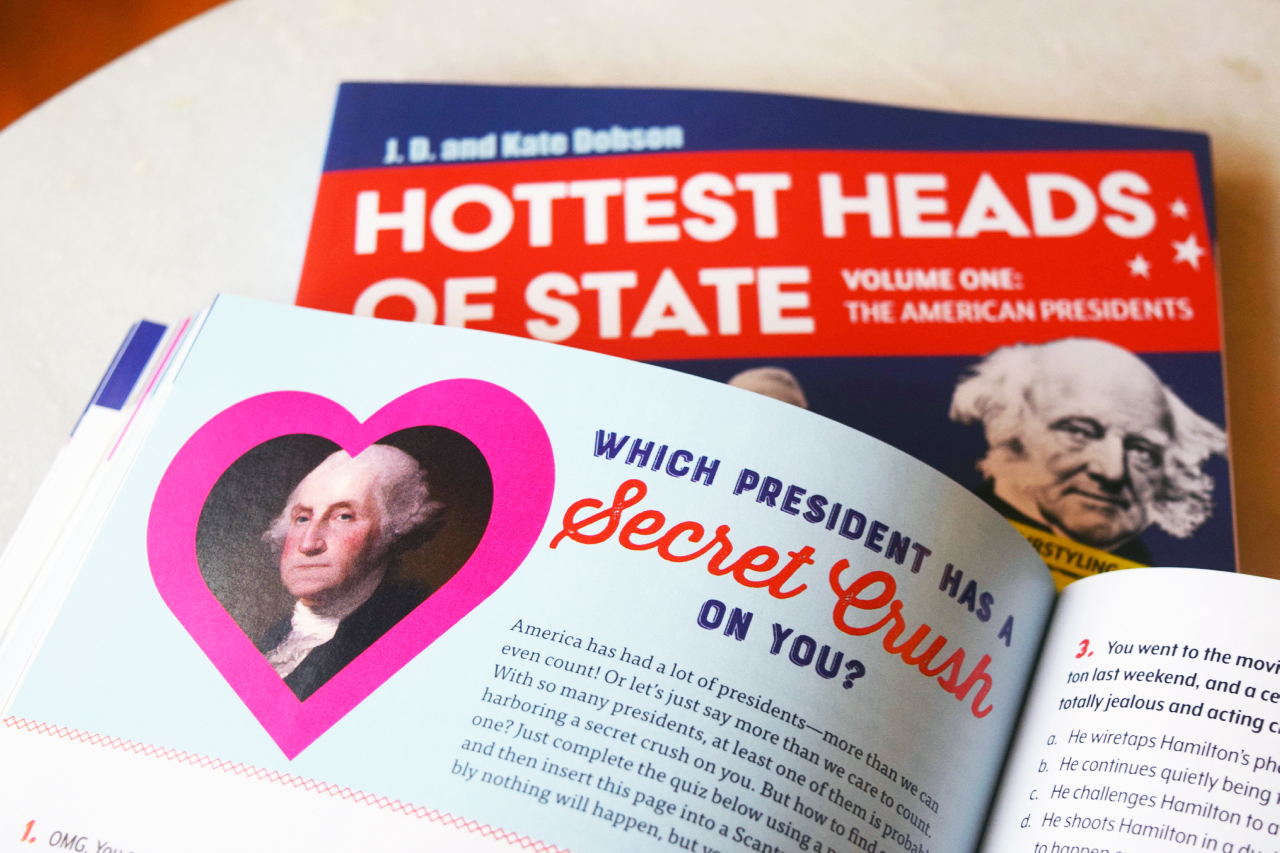 Hottest Heads of State the book