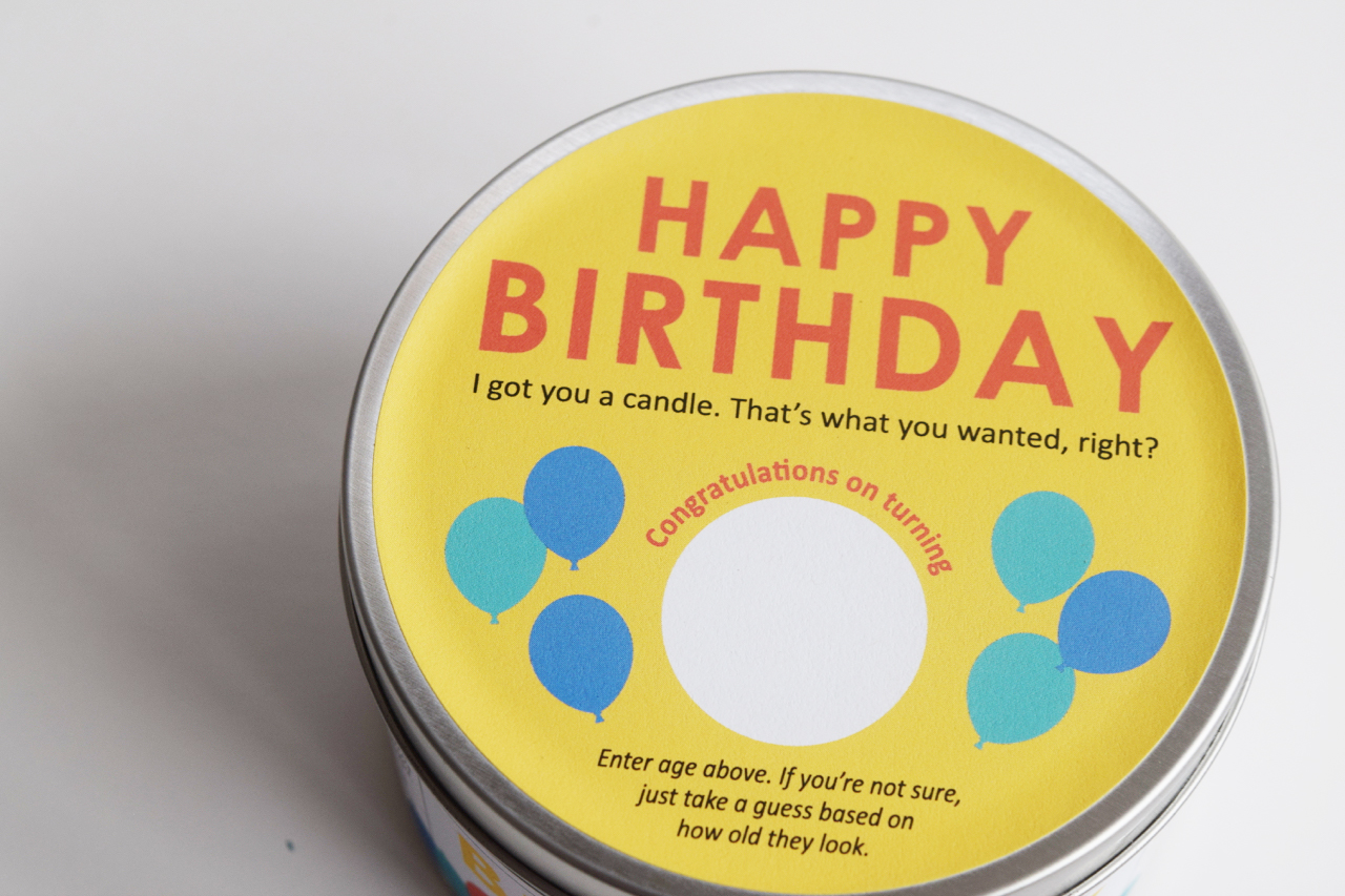 Birthday candle