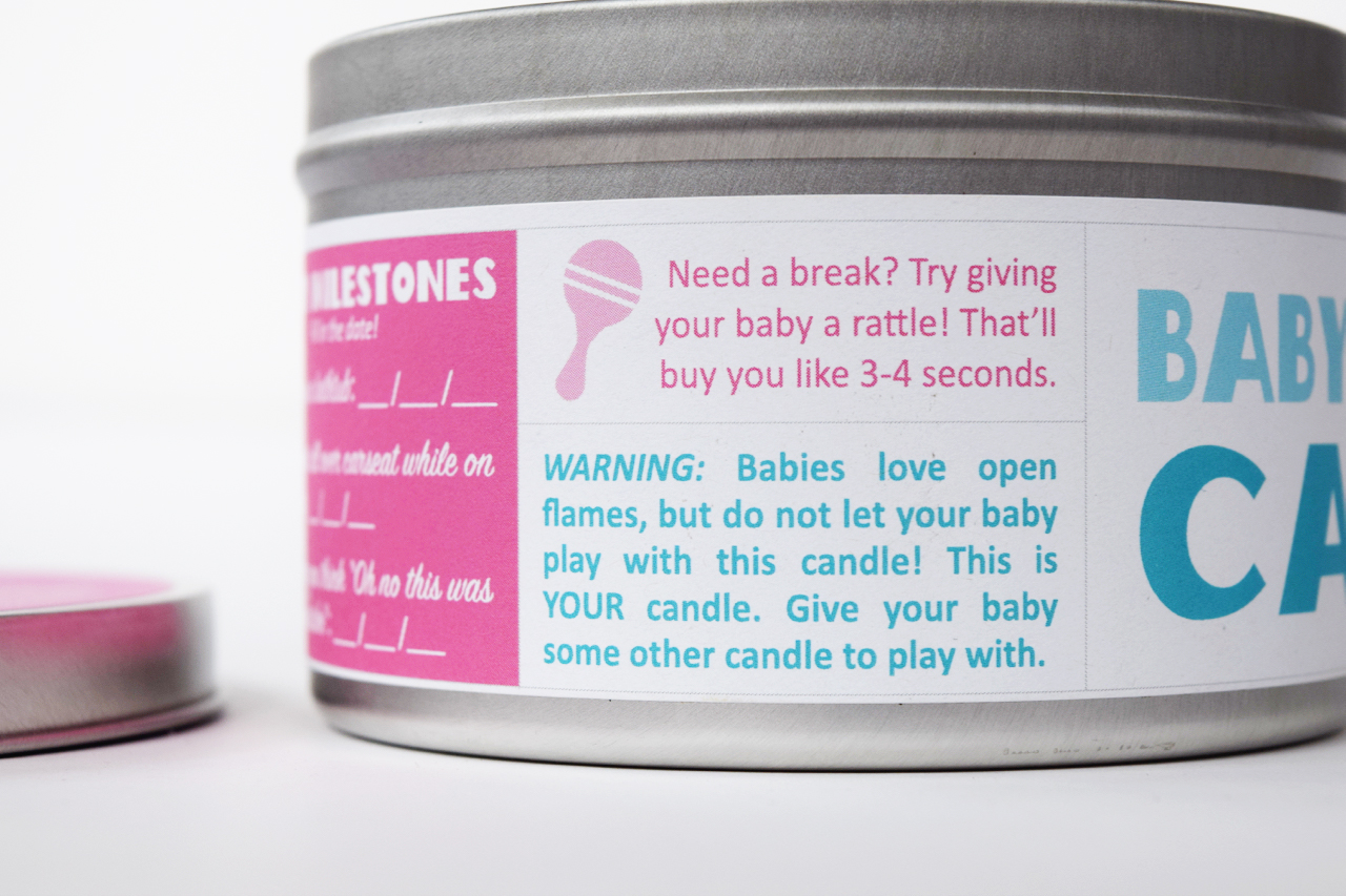 Baby-Scented Candle