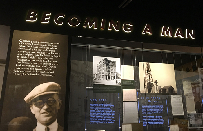 """Becoming a Man"" exhibit"