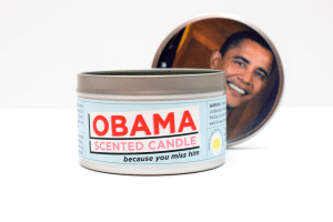 Obama-Scented Candle