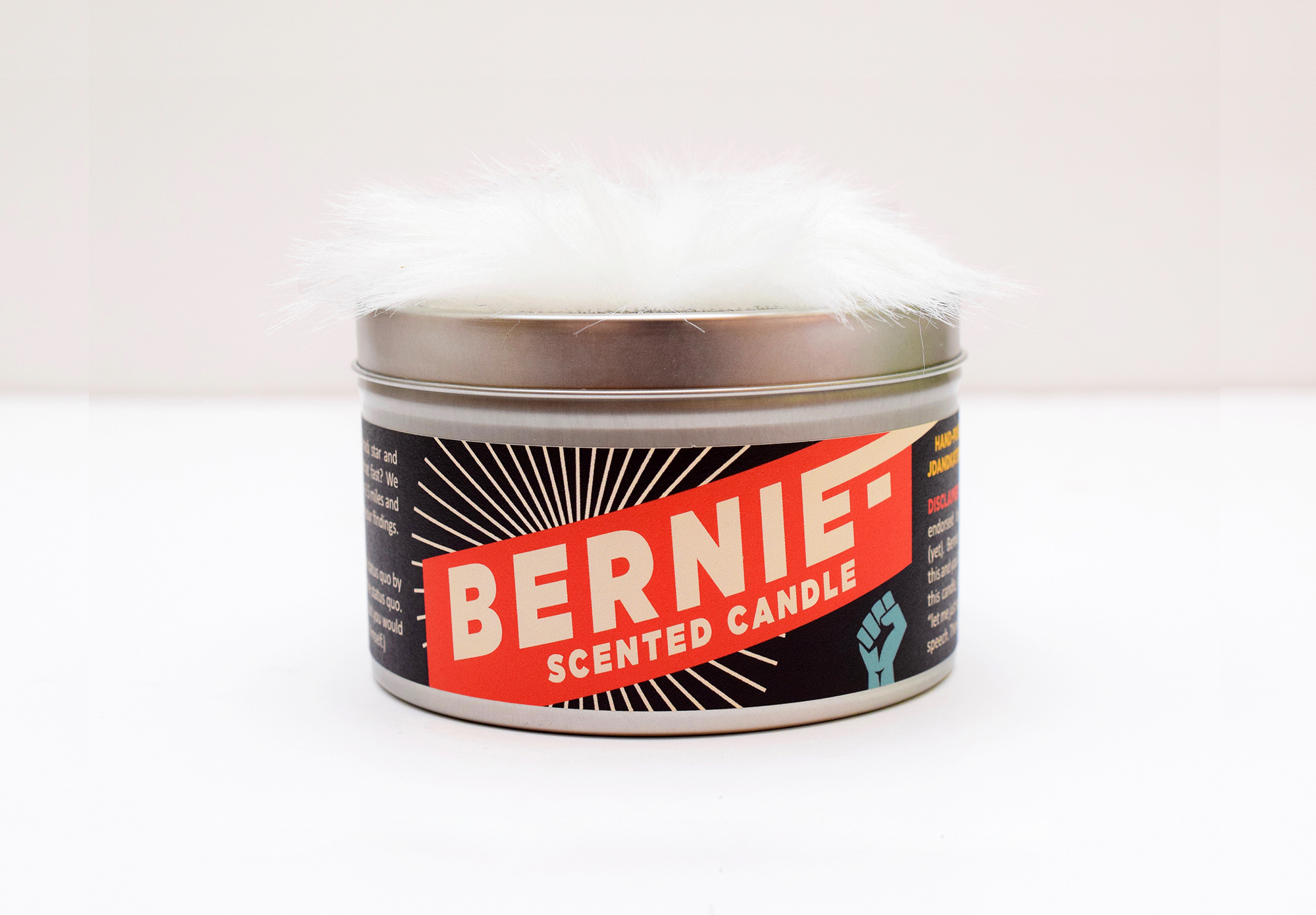 The Bernie-Scented Candle