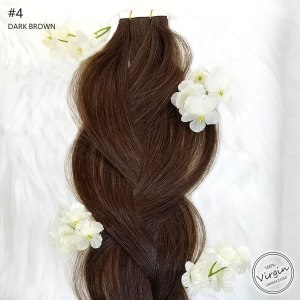 Virgin-Tape-In-Hair-Extensions-Dark-Brown-4-Braid-Flowers.fw