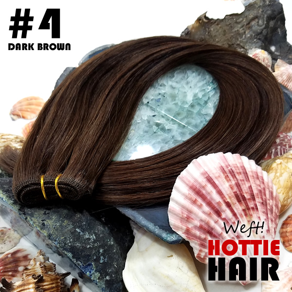 Weft-Hair-Extensions-Dark-Brown-Rock-04.fw
