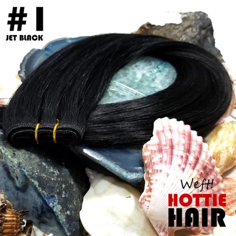 Weft Hair Extensions at Hottie Hair Store Las Vegas Made With Real Human Hair