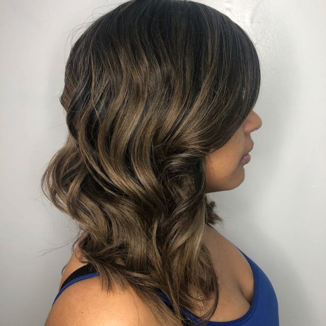 best balayage near me las vegas hair salon