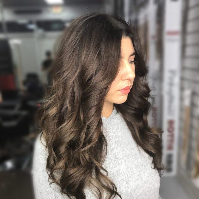 Partial Hair Highlights Dark Brown Medium Brown