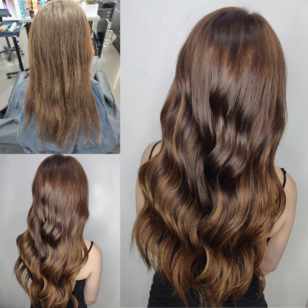 Clip In Hair Extensions Las Vegas Before After 01