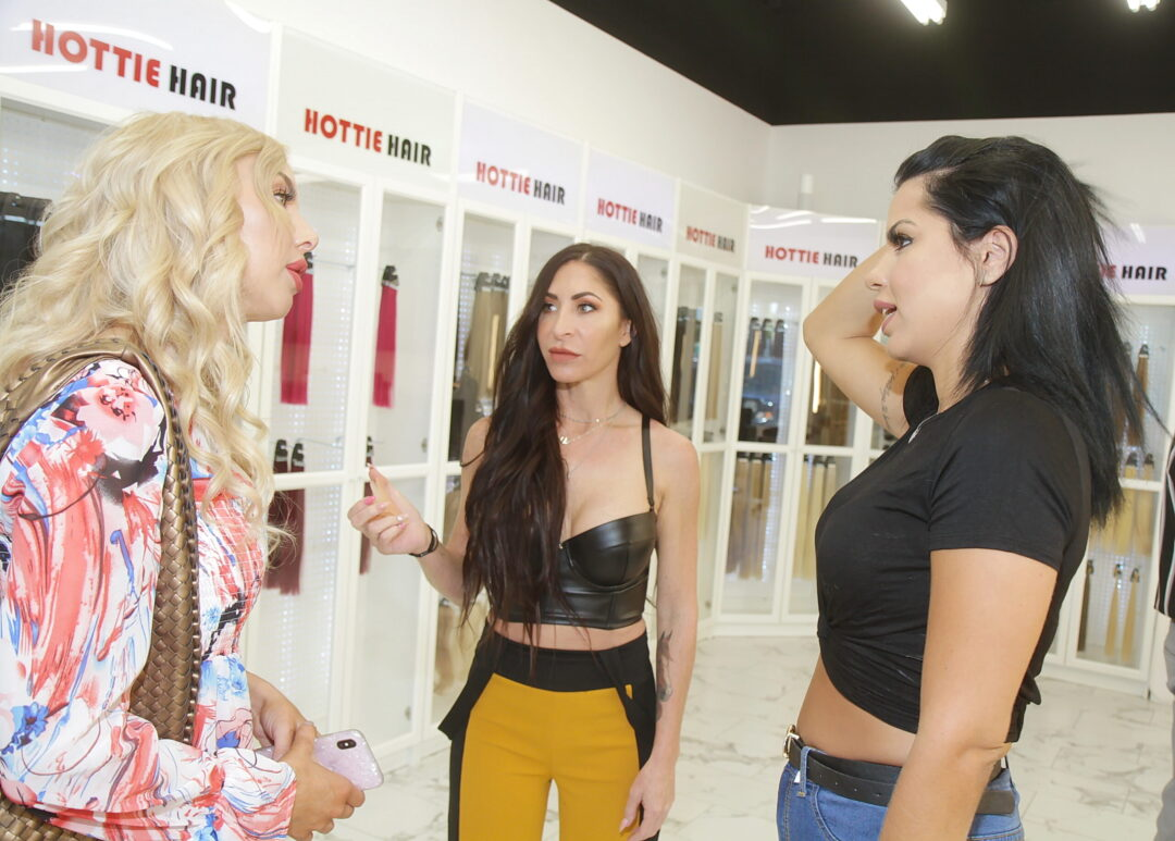 Larissa Santos Lima Consults About Hair Extensions in Las Vegas