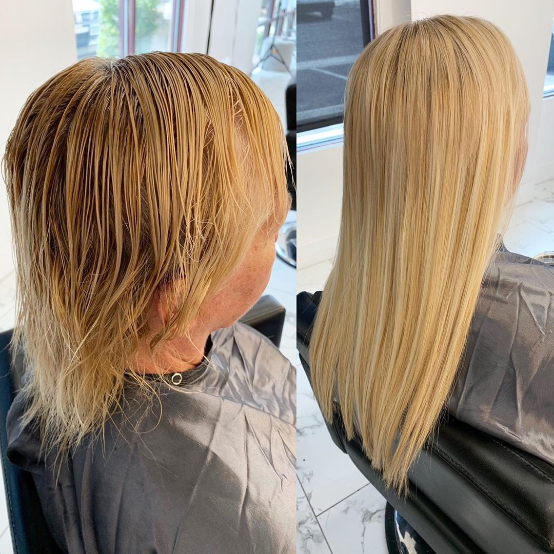 Tape In Hair Extensions Las Vegas Before After 01