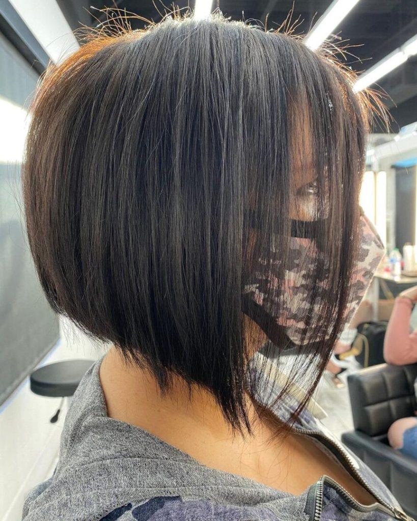 short hair a frame haircut style
