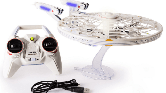 Air Hogs Star Trek USS Enterprise Drone Review