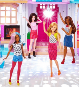 barbie voice activated house