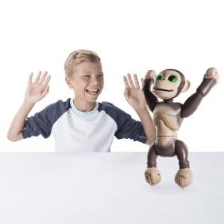 zoomer robot chimp tricks