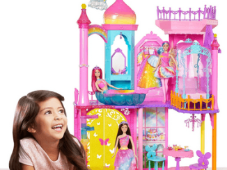 barbie rainbow cove princess castle playset review