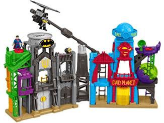 fisher price imaginext bat flight city review