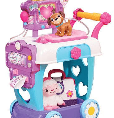 just play doc mcstuffins hospital care cart toy