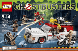 lego ghostbusters ecto 1 2 75828 building kit review