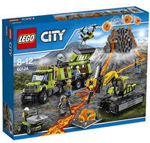 lego city volcano exploration base review