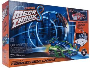 lionel mega tracks corkscrew chaos review