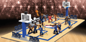 nba c3 construction elite edition full court building set review