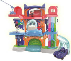 pj masks headquarter playset review