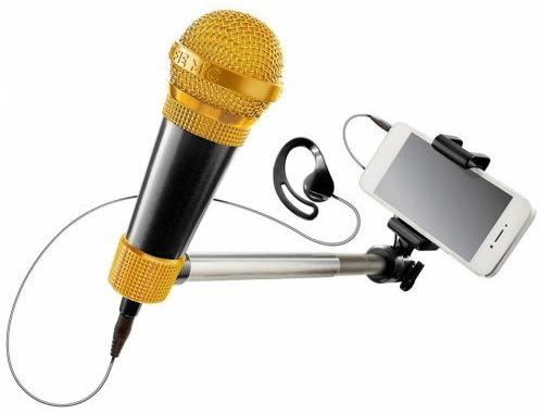 selfie mic review