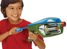 teenage mutant ninja turtles t blasts leonardo quad blaster review