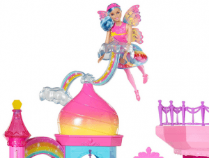 barbie rainbow cove castle