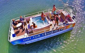 Hot Tub Boat San Diego