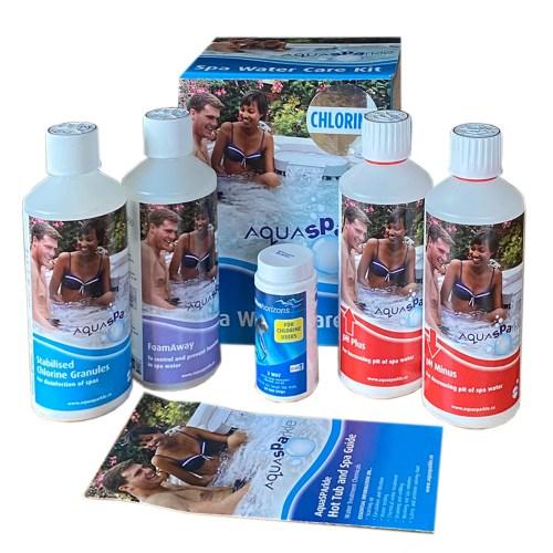 AquaSparkle Hot Tub Chemicals