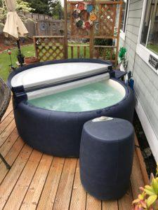 soft sided hot tub