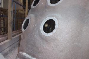 Drilling and Cutting Hot Tub Shells